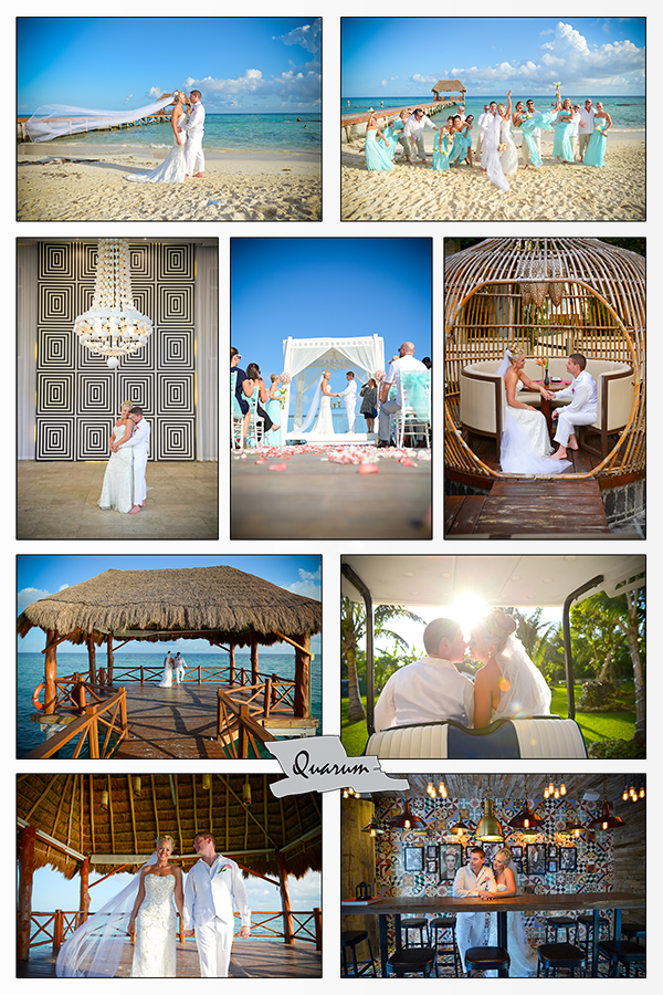 Destination wedding Quarum Mexico