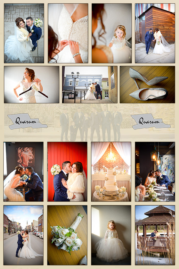 The Manor by Peter and Pauls - Toronto wedding Quarum