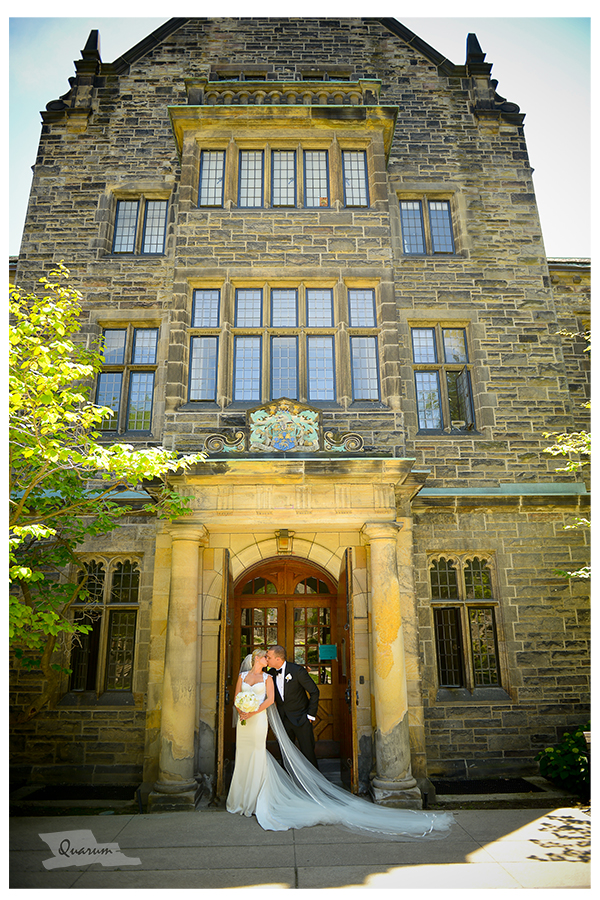 Trinity College Toronto, wedding of Derek Joslin Katie Noble