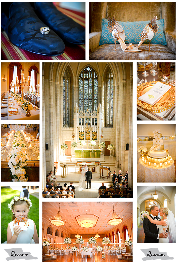 Celebrity weddings by Quarum, Toronto canada