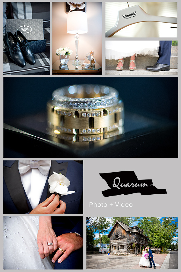 Toronto Wedding Quarum Collage rings Mark Piotrowski