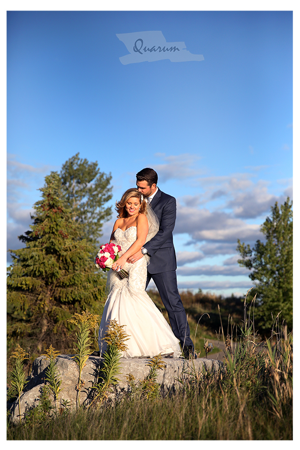 Toronto fall colours wedding Eagles nest
