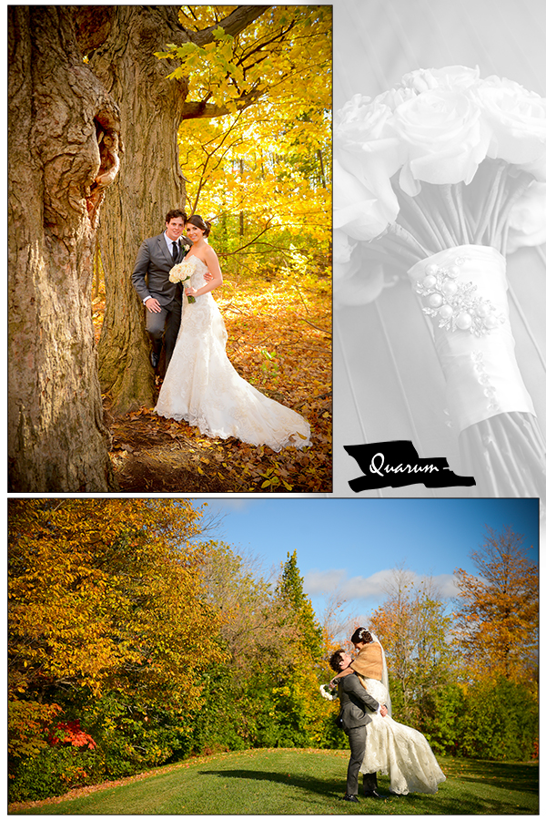Quarum Top wedding studio Fall Colours