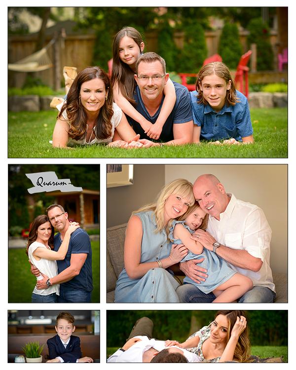North Toronto family portraits Quarum Photo and Video
