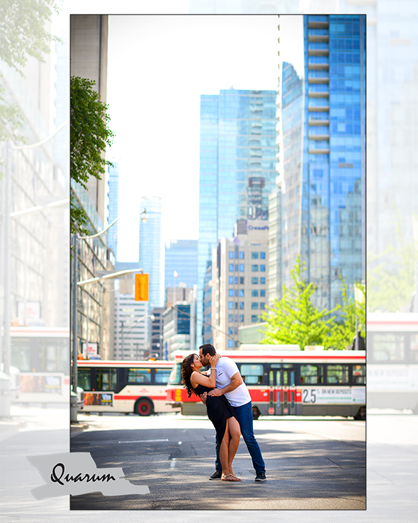 Toronto engagement shoots by Quarum