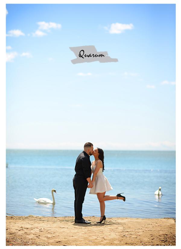 Water front Toronto Quarum Engagement shoots Award winning studio