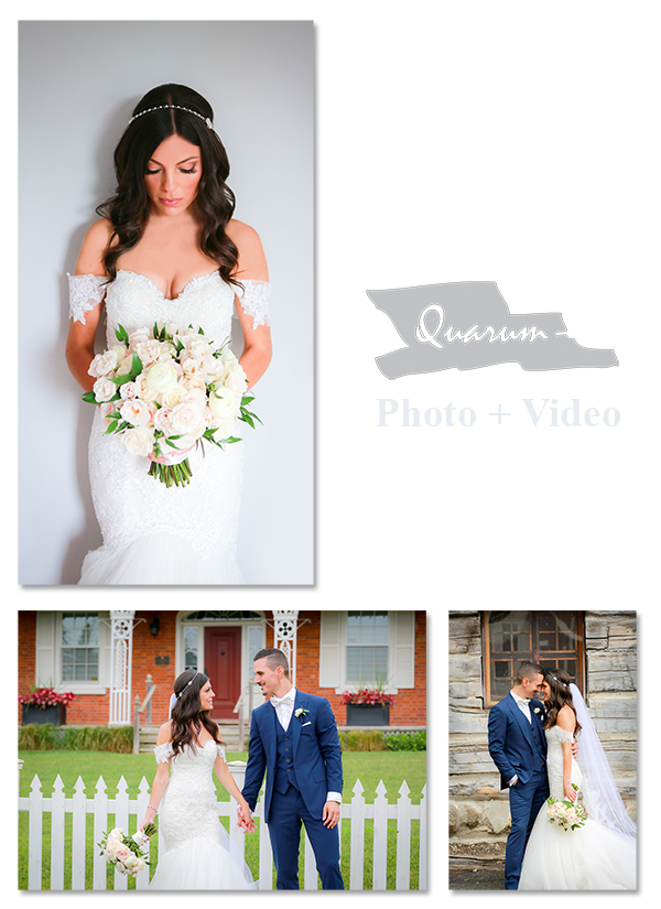 Toronto weddings Quarum Photo Video Award winning Best studio Toronto