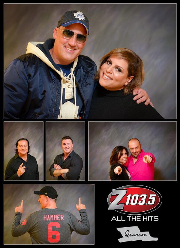 Mark Piotrowski Z103 5 Radio Toronto Dj Danny D The Hammer Dj Pina