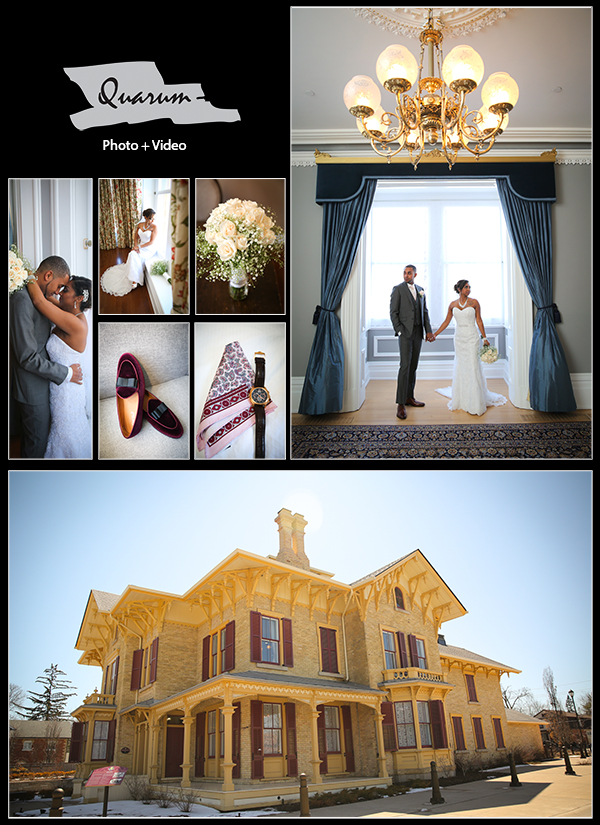 Toronto weddings Quarum Photo Video award winning studio 5 star reviews