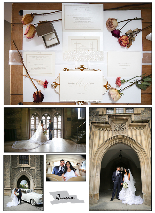 u of t toronto weddings, QUarum photo video, wedluxe weddings magazine