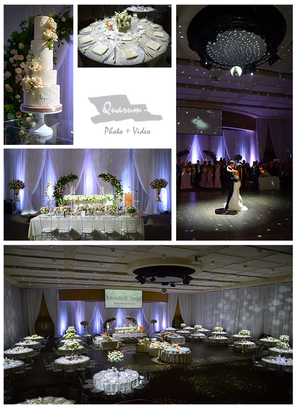 by Peter and Pauls, Paramount, universal, bellagio, the manor, toronto luxury weddings, quarum photo video
