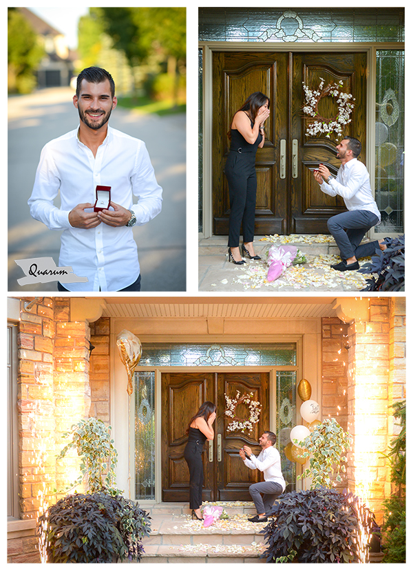 engagement surprise proposal, Quarum photo video, toronto, Luxy weddings, toronto best proposal ideas. toronto weddings