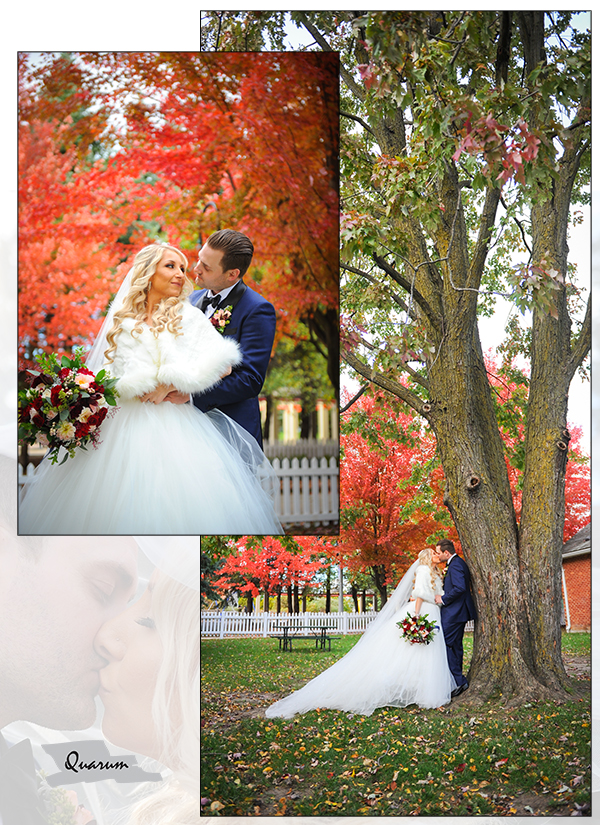Quarum Luxury weddings fall colours toronto Quarum