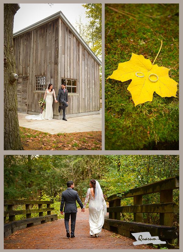 Best places for a wedding fall colours toronto Quarum photo video luxury weddings