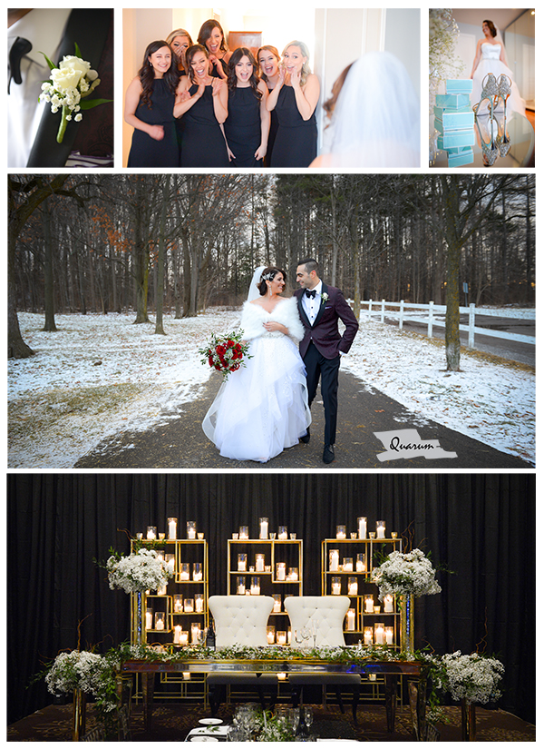 toronto weddings, toronto wedding photographers, winter weddings, luxury weddings, quarum photo video