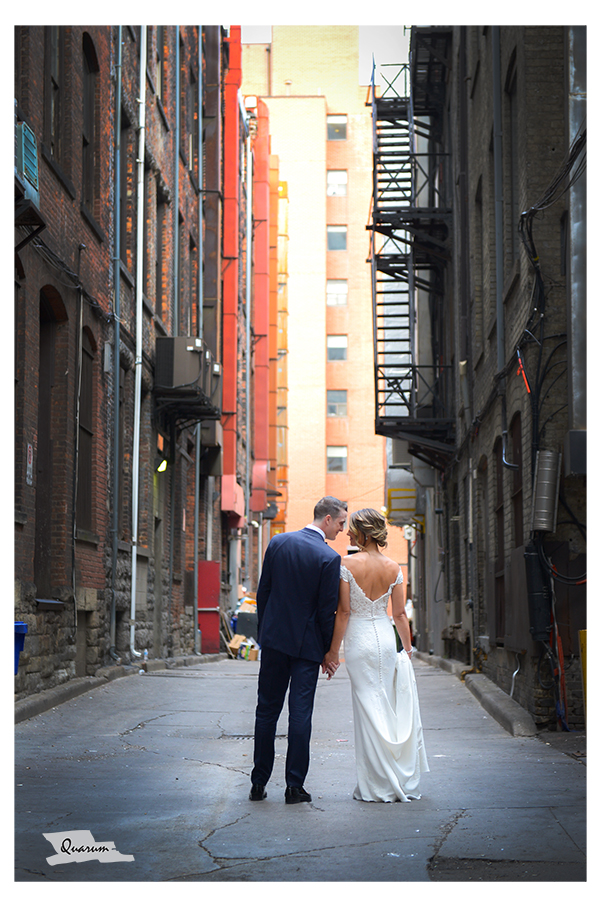 down town toronto weddings, mark piotrowski, king edward hotel, alley way wedding photos, toronto wedding studio, award winning