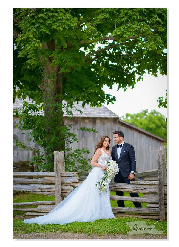 peter and pauls pioneer village weddings, toronto wedding ideas, bride and groom rustic wedding photography, video rustic wedding, quarum photo video, mark piotrowski