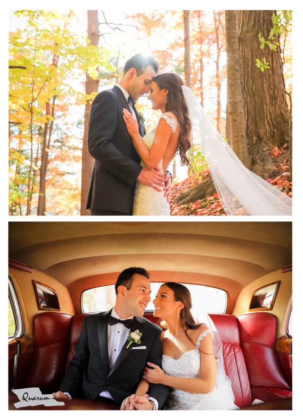 Toronto fall weddings, Luxury weddings quarum photo video, magical lighting, rolls Royce,