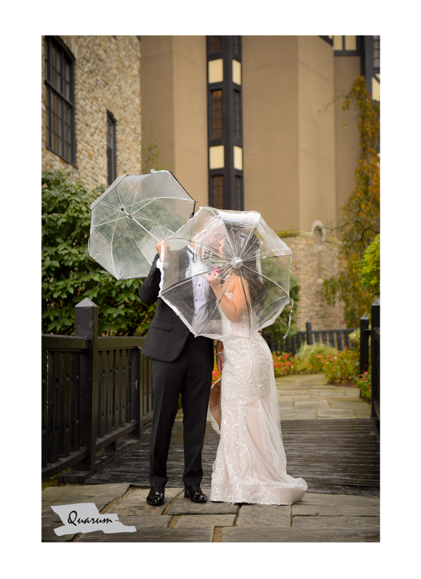 rainy day wedding ideas, umbrella ideas weddings toronto, old mill, quarum photo video, luxury weddings