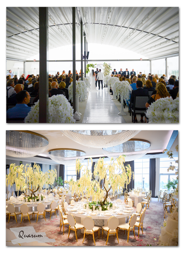 luxury weddings toronto, hotel x toronto, sansone wedding, mark piotrowski, quarum photo video