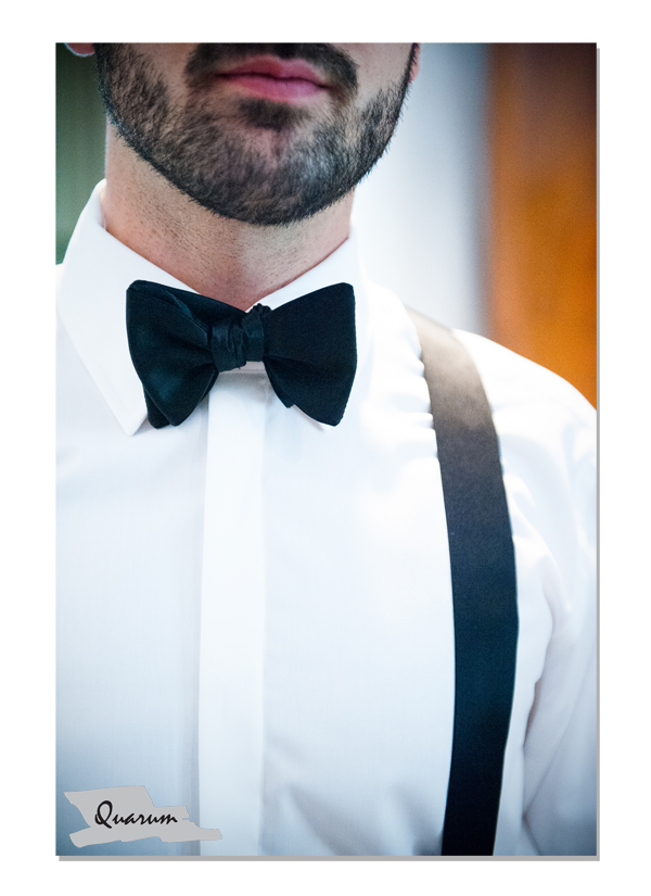 groom photos ideas, weddings toronto, bow tie, suspenders, wedding details quarum photo video