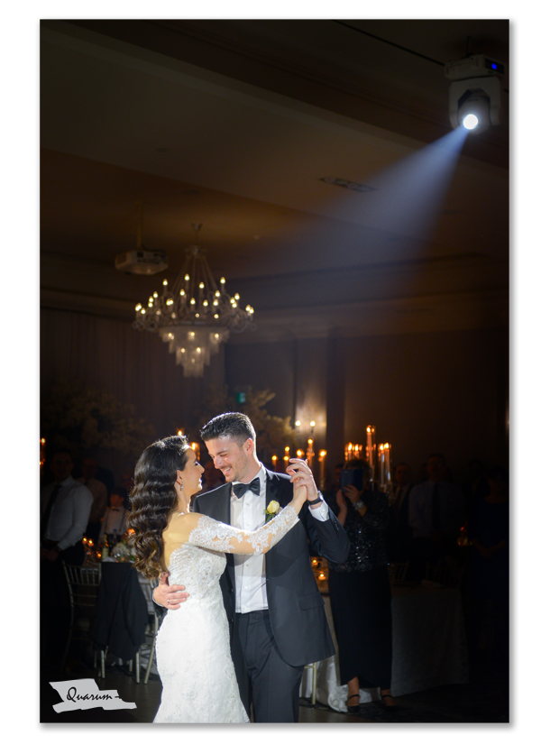wedding first dance, luxury weddings toronto, best weddings canada, quarum photo video