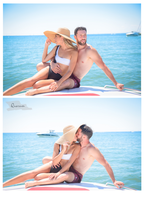 boat shoots toronto, wedding photography, quarum photo video, mark piotrowski, engagement boat shoot