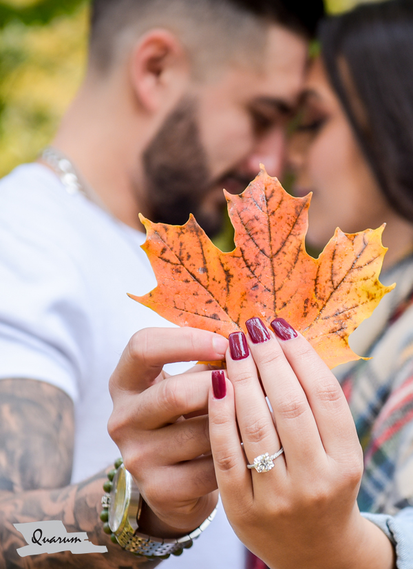 Fall photos engagement ideas, quarum photo video, toronto luxury weddings,